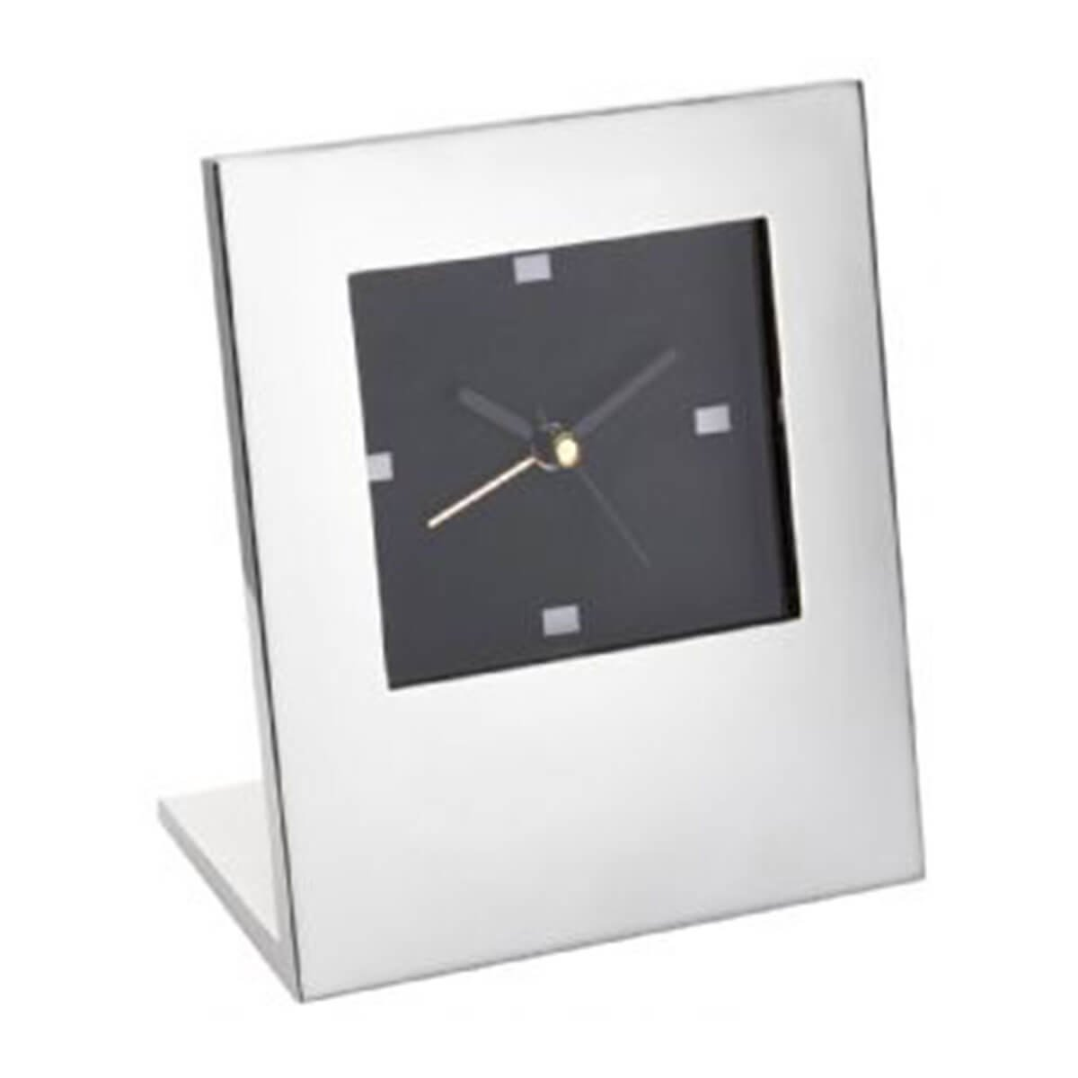 Desk Clock-Silver.
