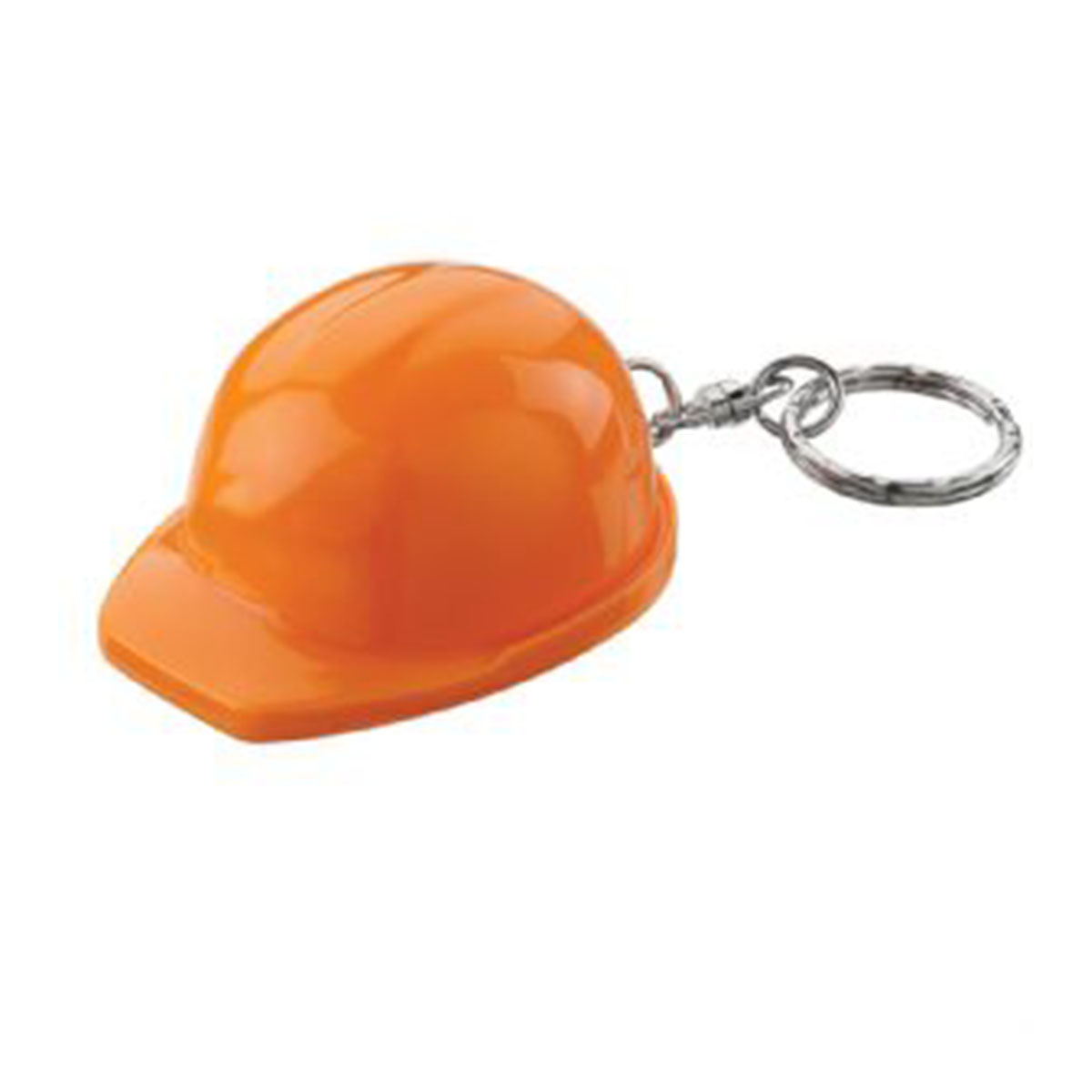 Hard Hat Keyring-Orange.