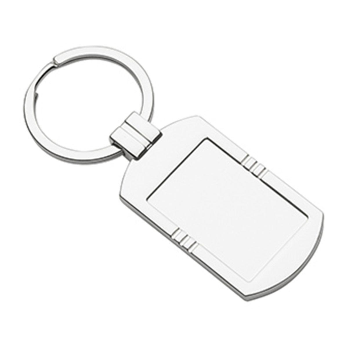 Metal Keyring-Silver
