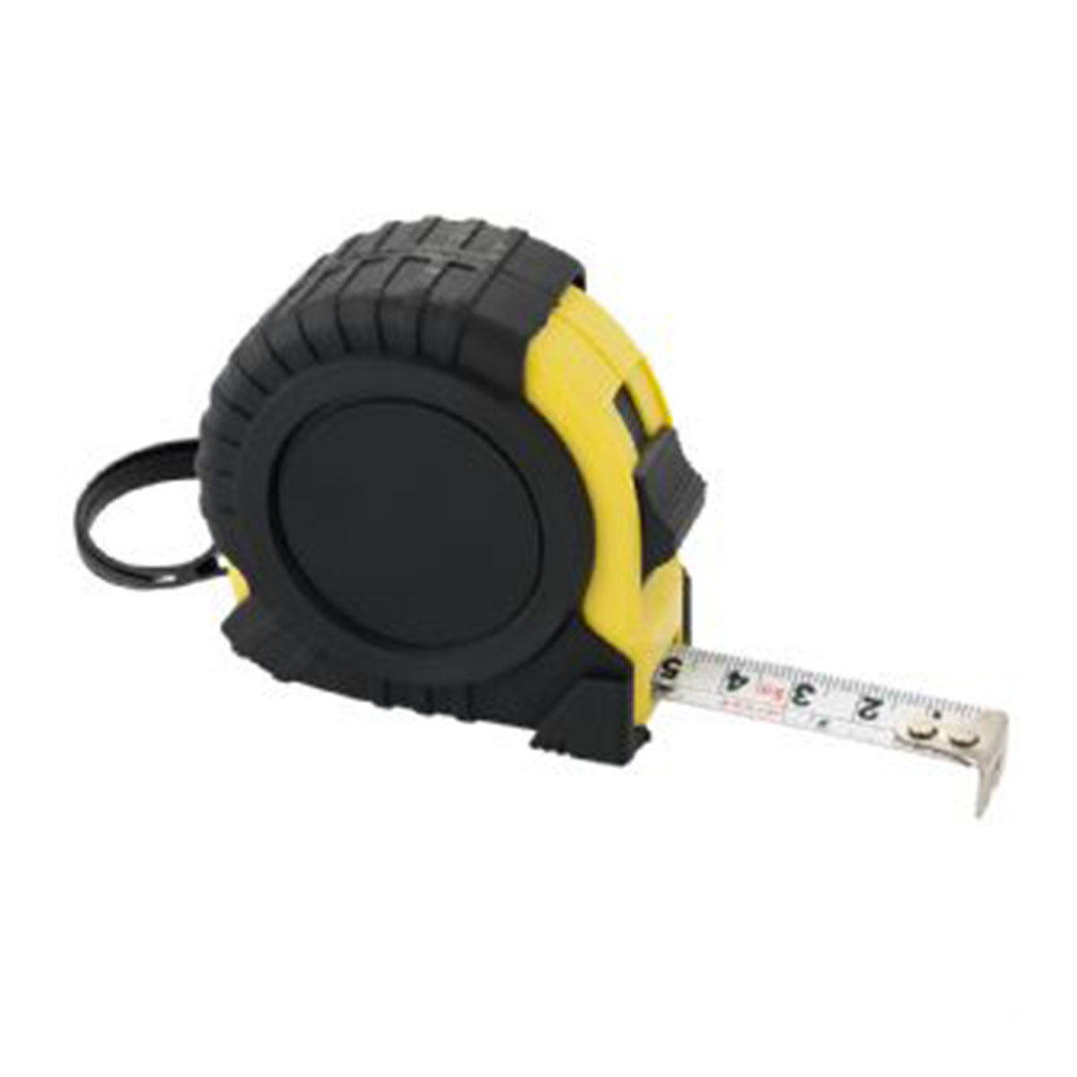 5M Measuring Tape-Black with Yellow Trim