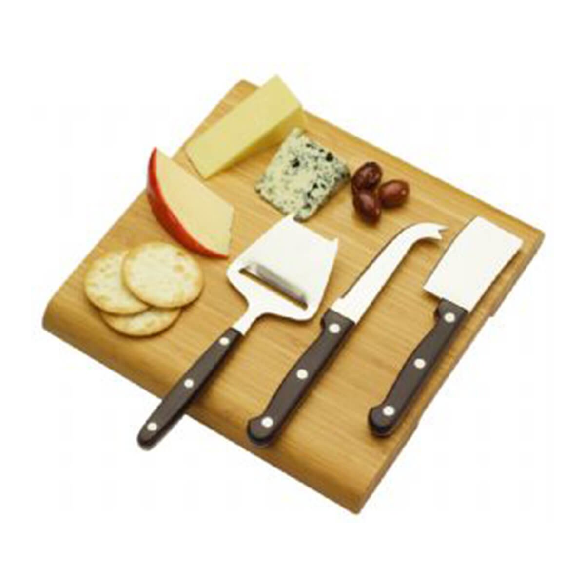 Cheese Board Set-Brown Cheese Board.