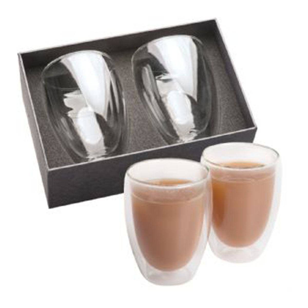 Glass Coffee & Tea Set-Clear