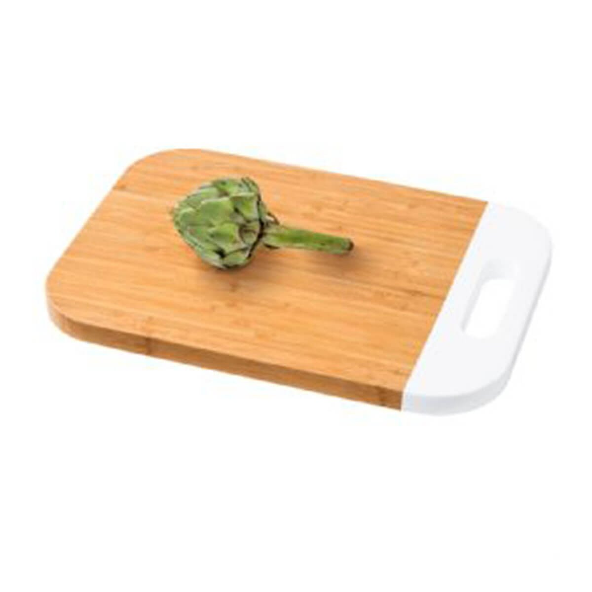 Cutting Board-Bamboo with White Trim