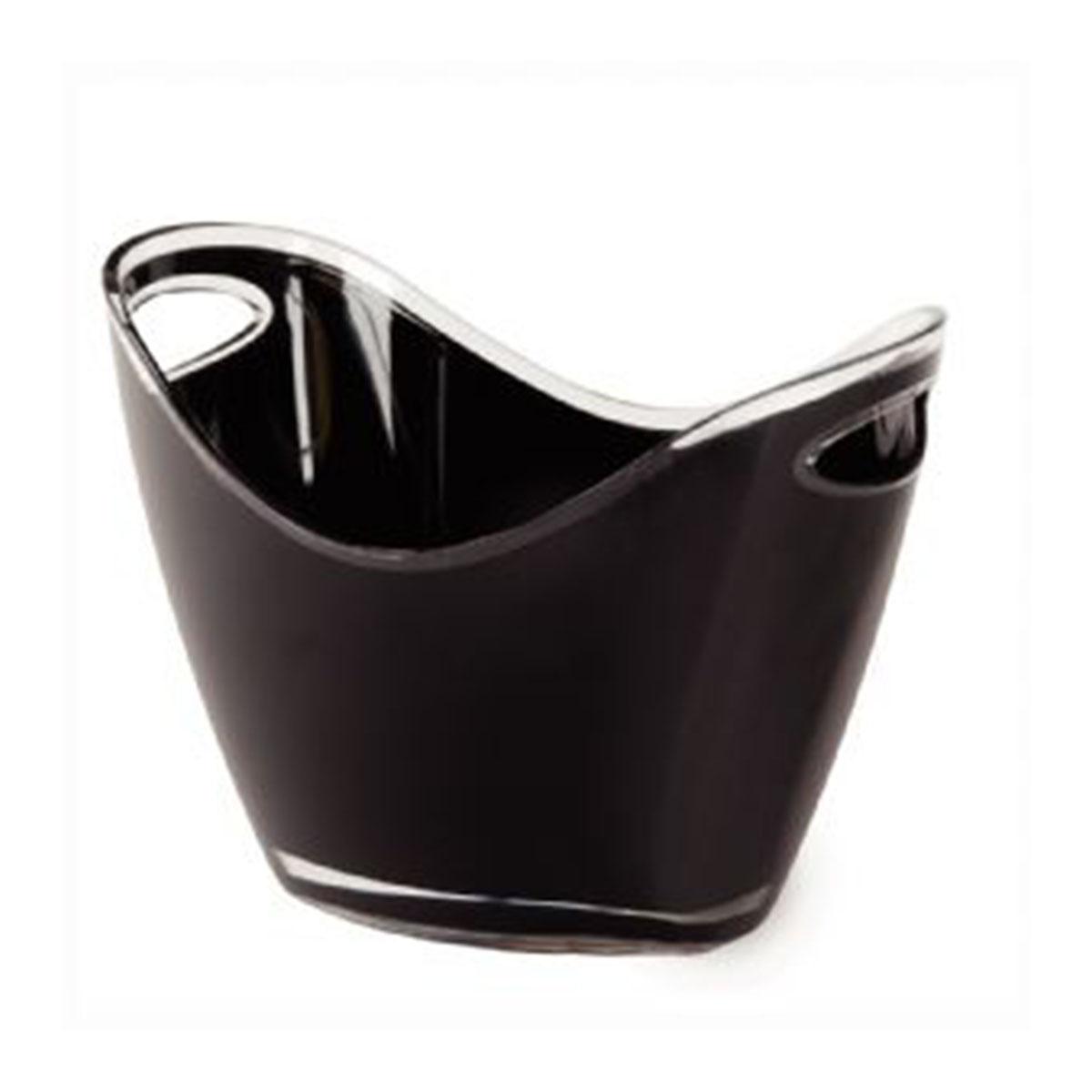 Ice Bucket-Black.