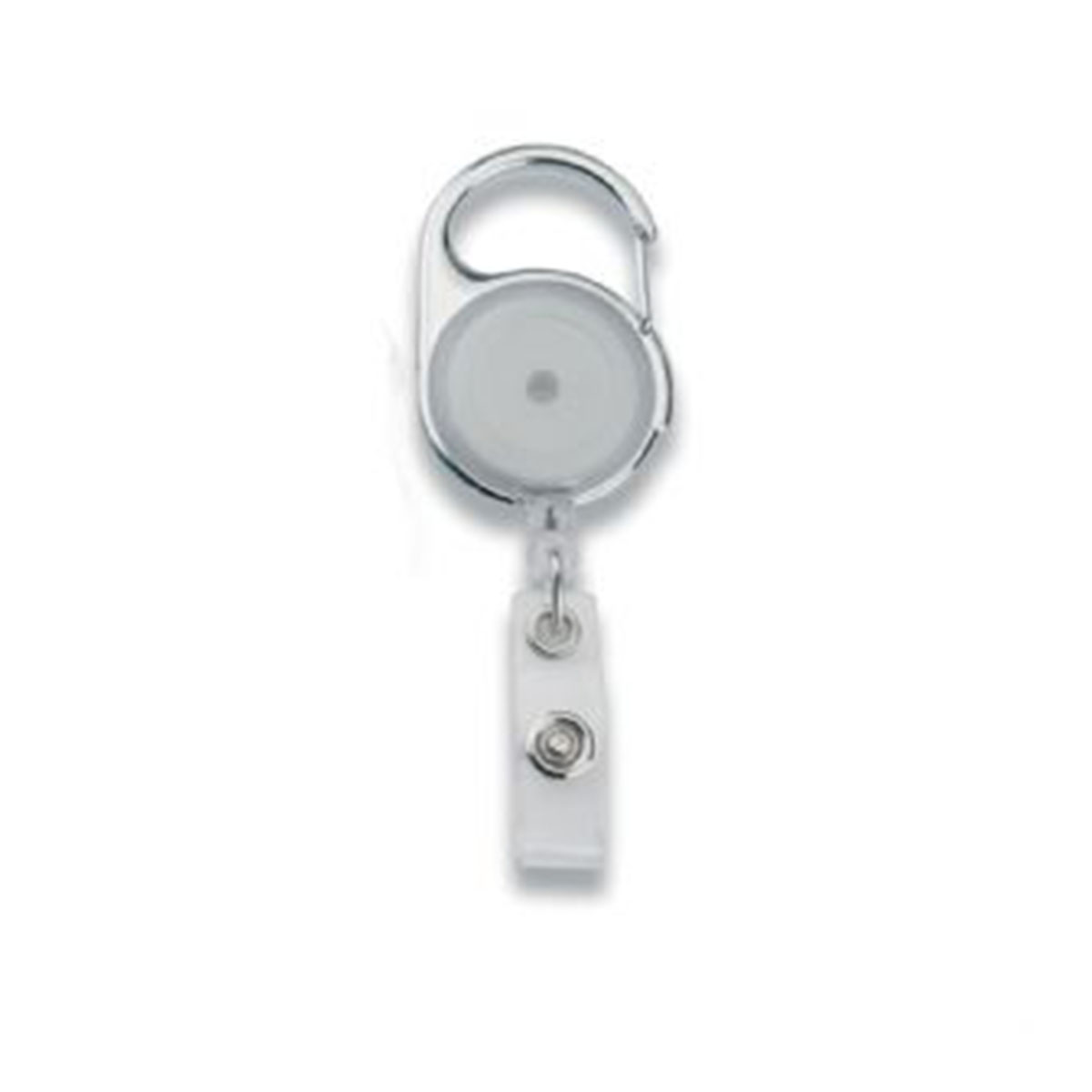 Retractable Badge Holder-Transparent.