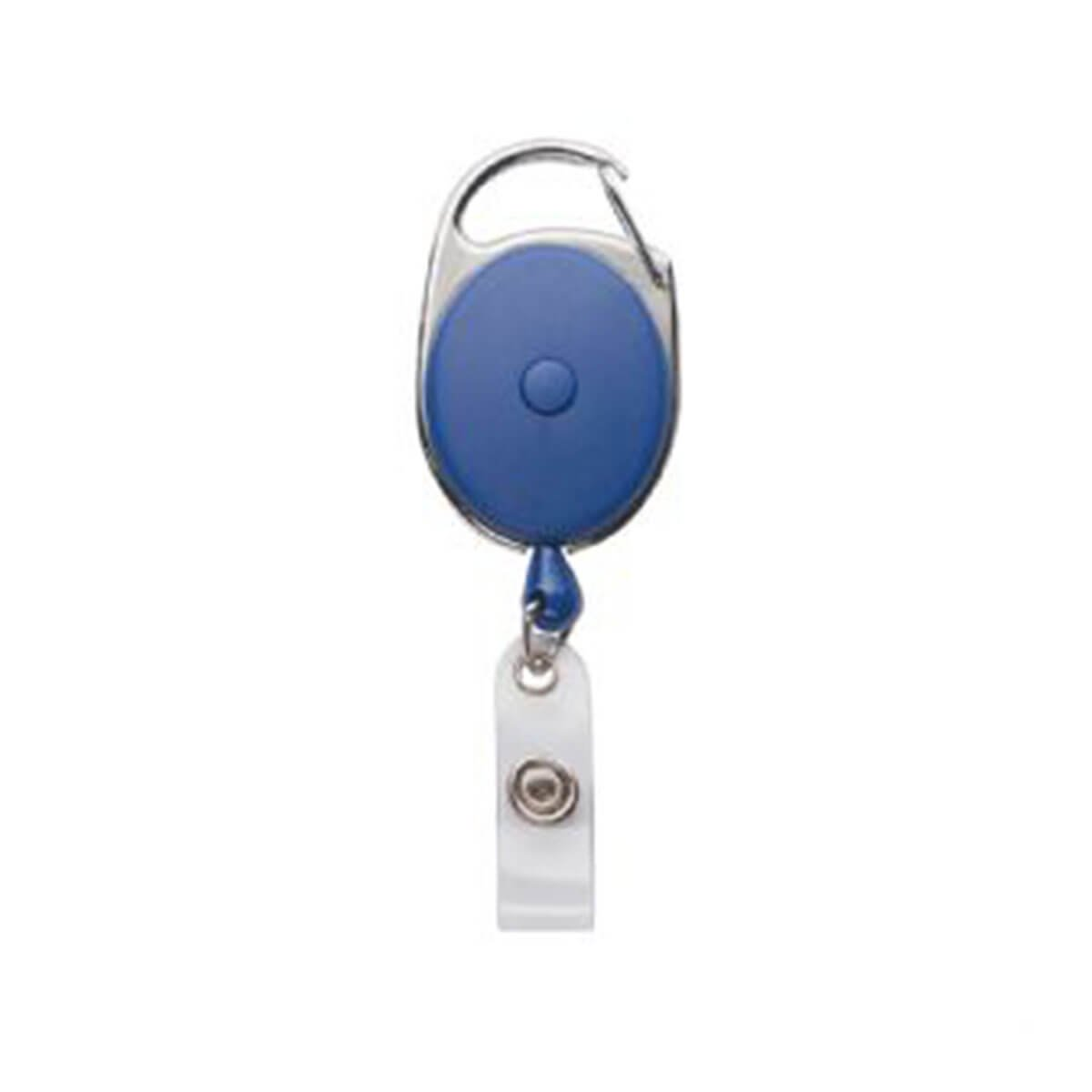 Retractable Badge Holder-Blue