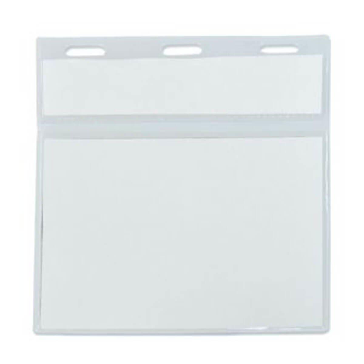 Double ID Pocket-Transparent.