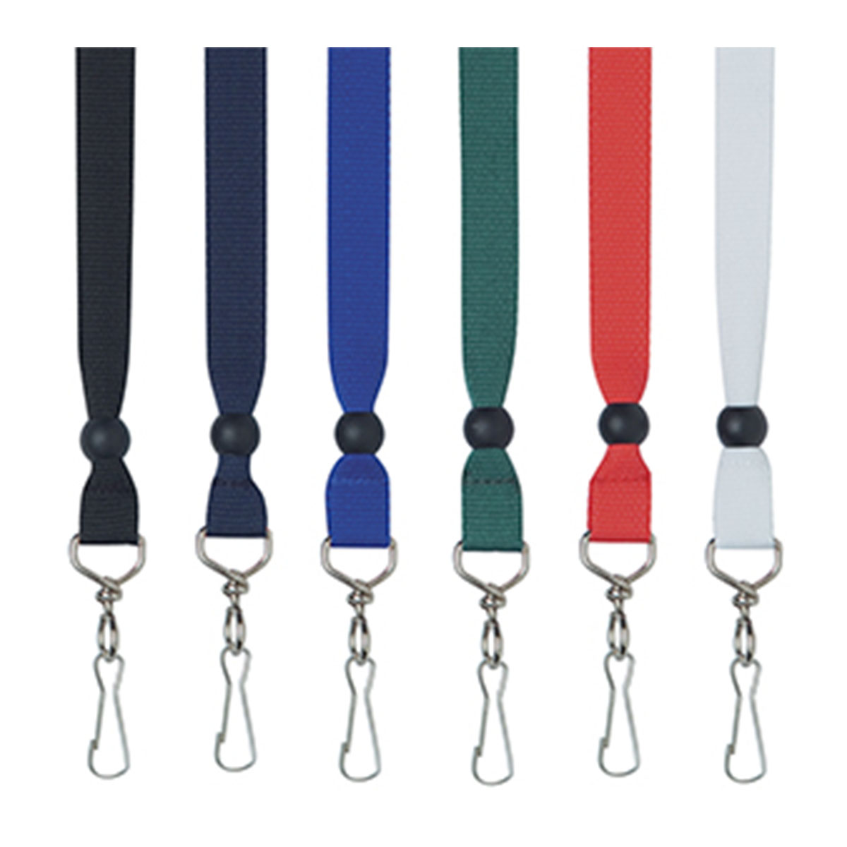 Ribbon Lanyard-Black.