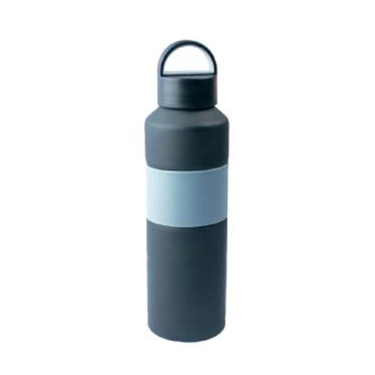 The Grip Drink Bottle-Grey/Black