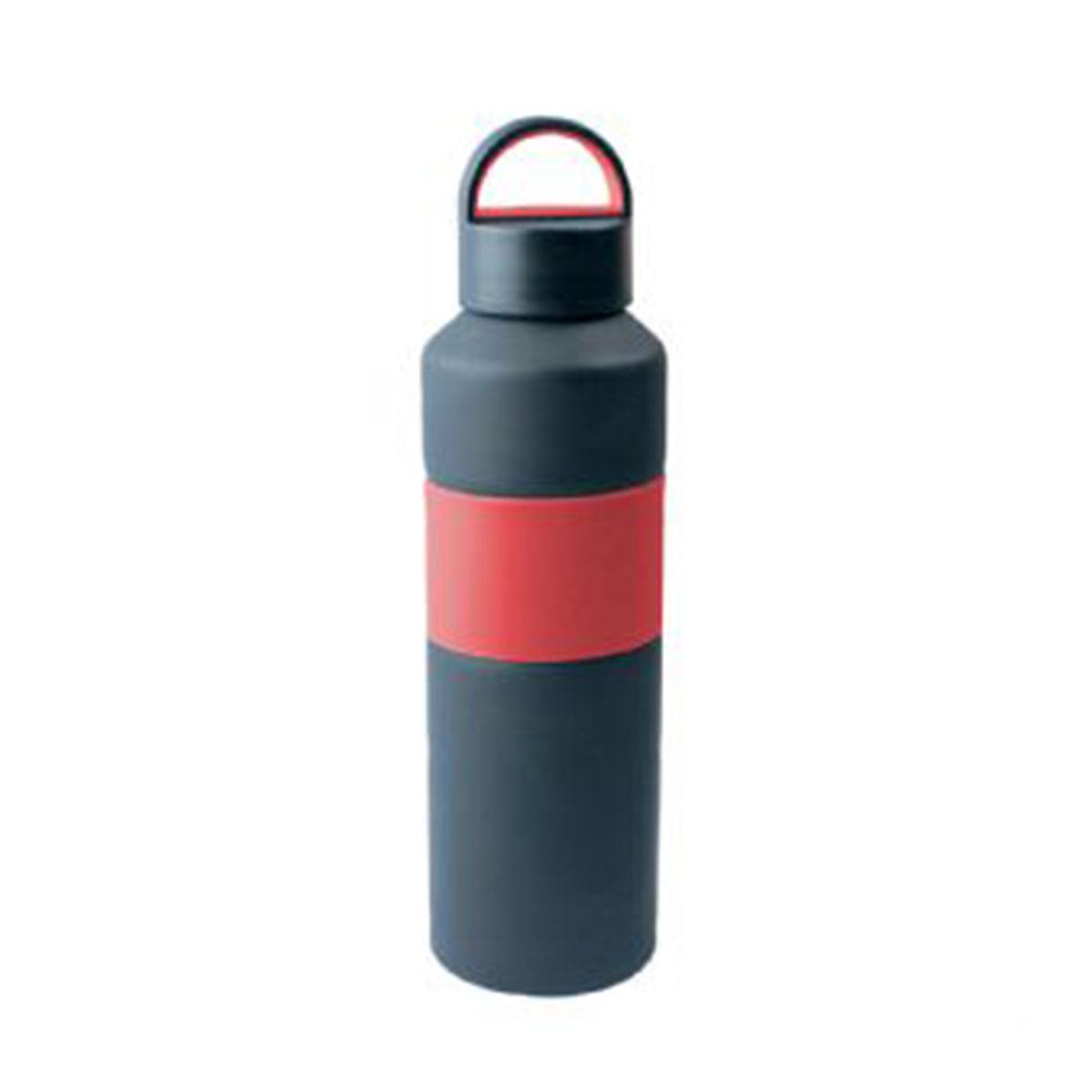 The Grip Drink Bottle-Red/Black