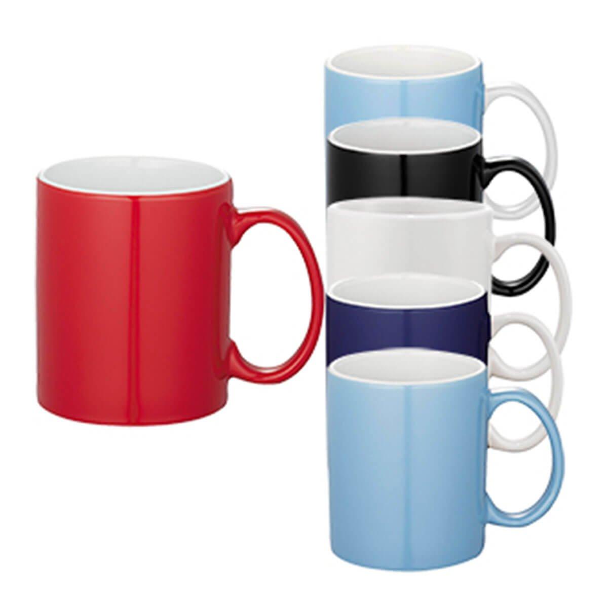 Bounty Ceramic Mug-Red.