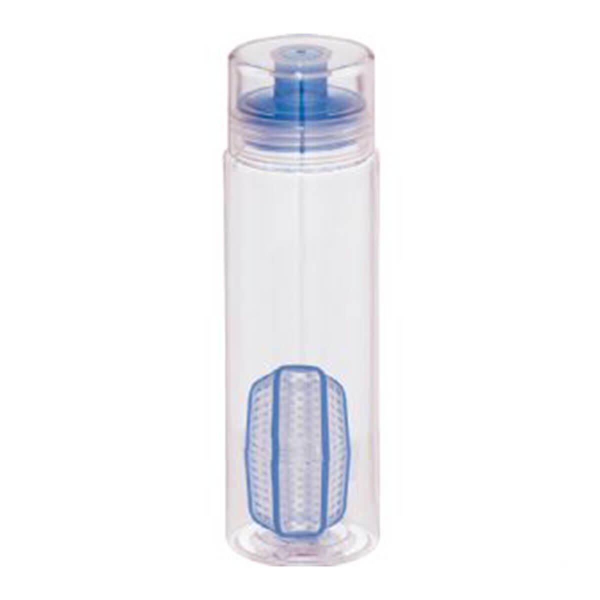 Trinity Infuser & Shaker Bottle-Blue