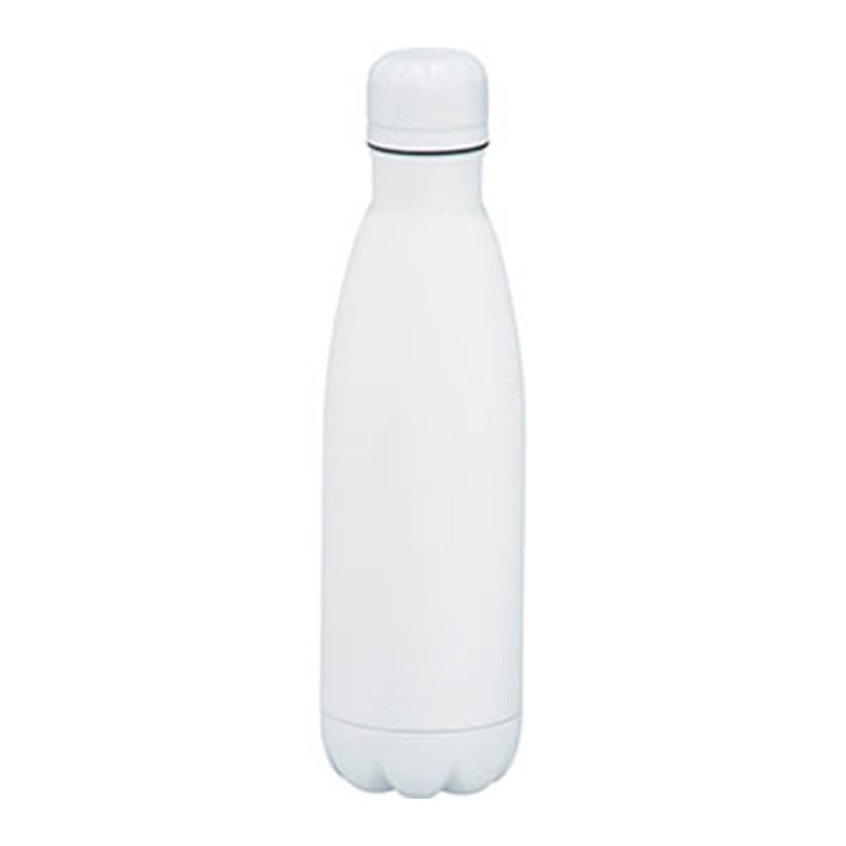 Copper Vacuum Insulated Bottle-White