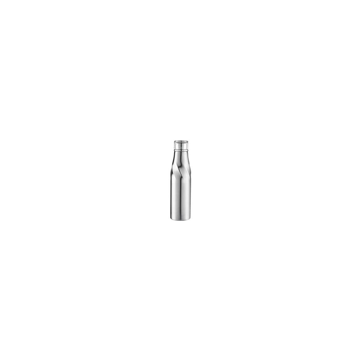 Hugo Auto-Seal Copper Vacuum Insulated Bottle-Silver