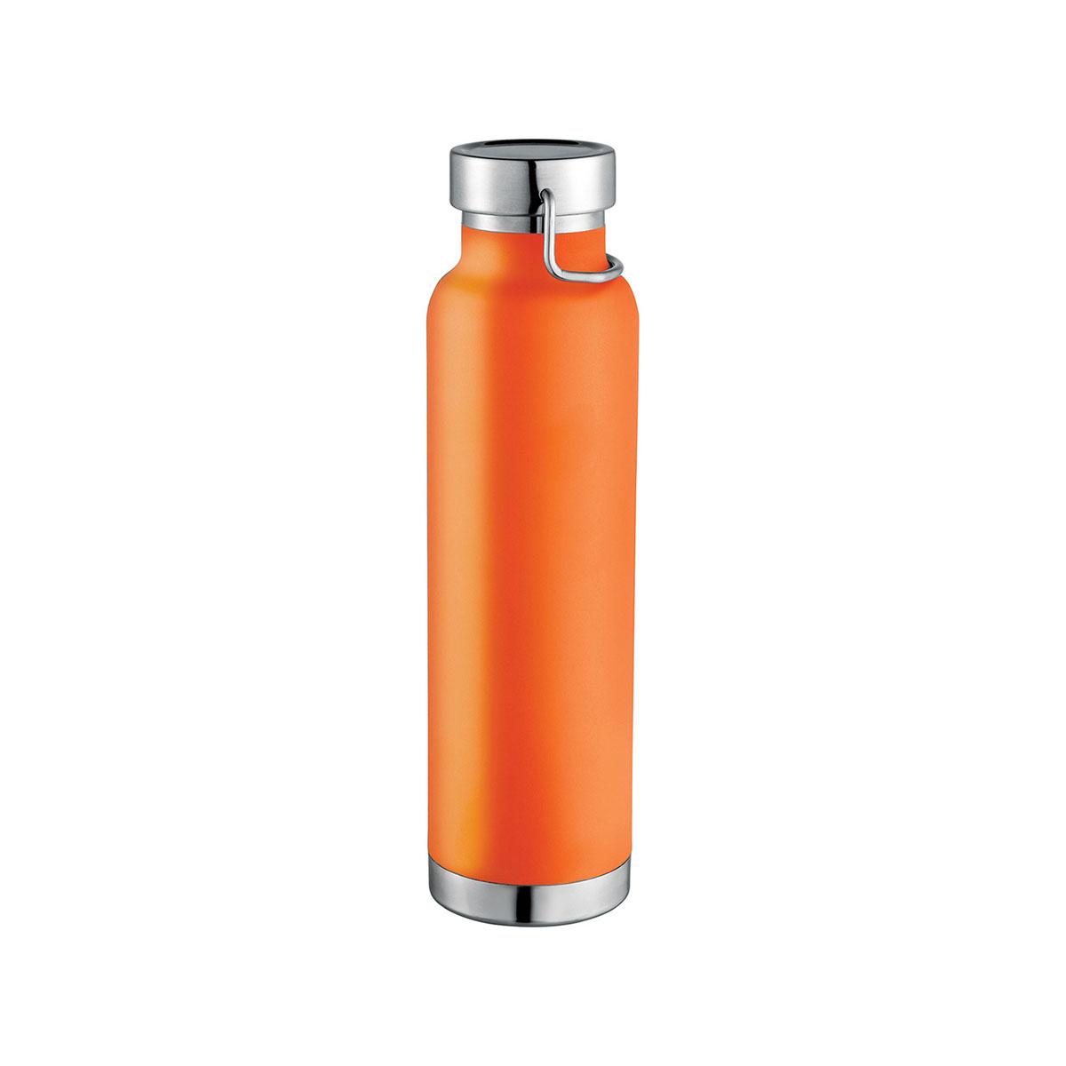 Thor Copper Vacuum Insulated Bottle-Orange