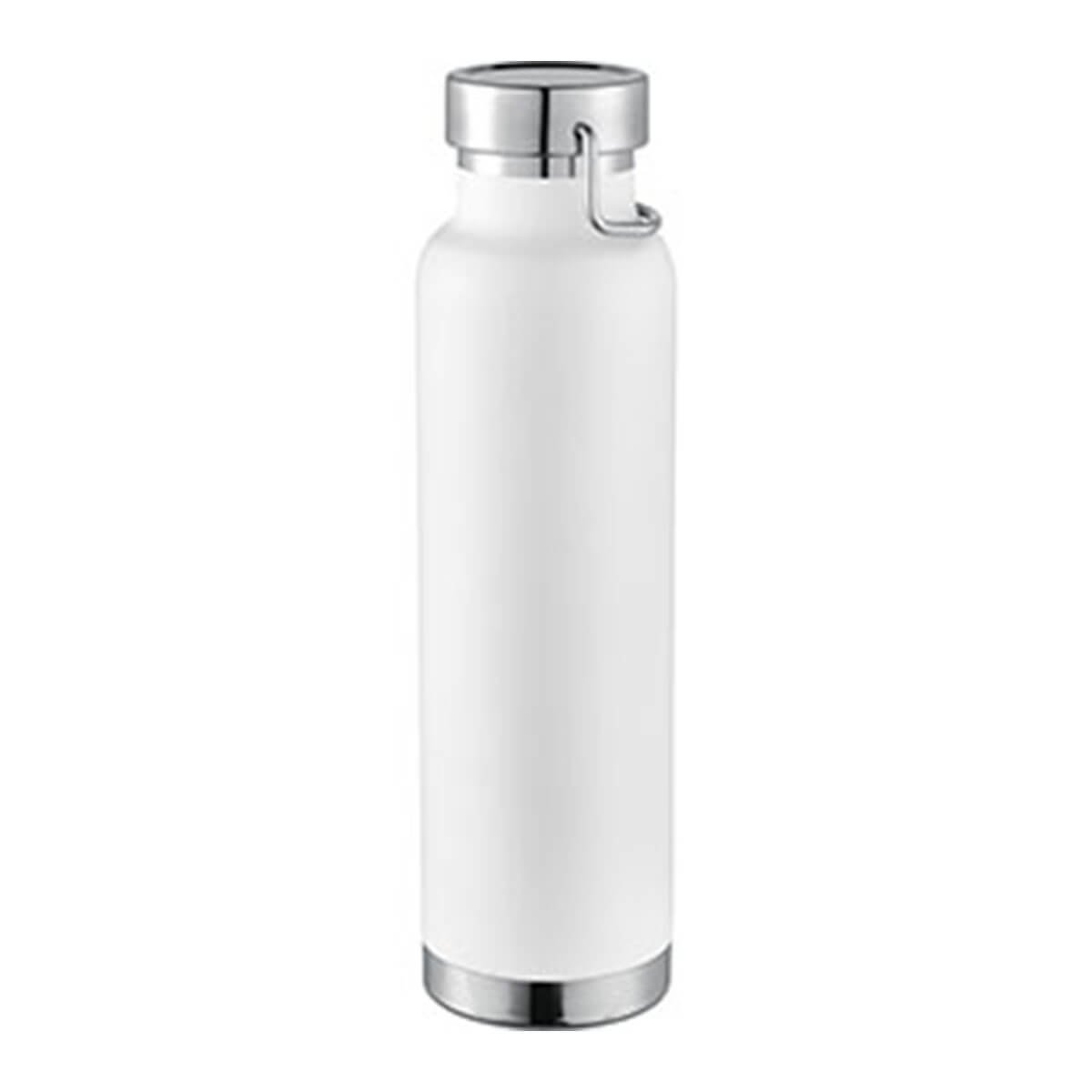 Thor Copper Vacuum Insulated Bottle-White