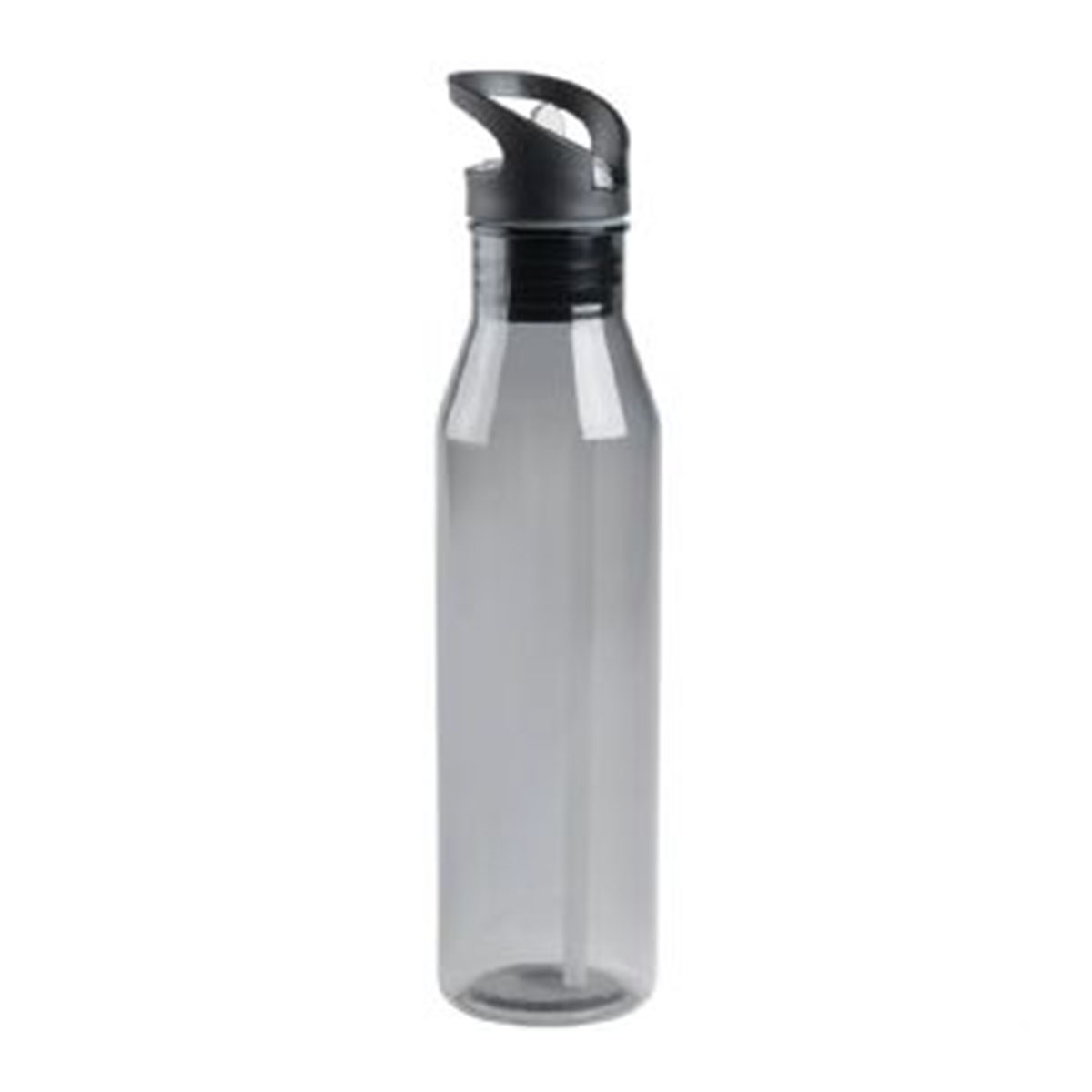 Sports Bottle – Black-Translucent Black