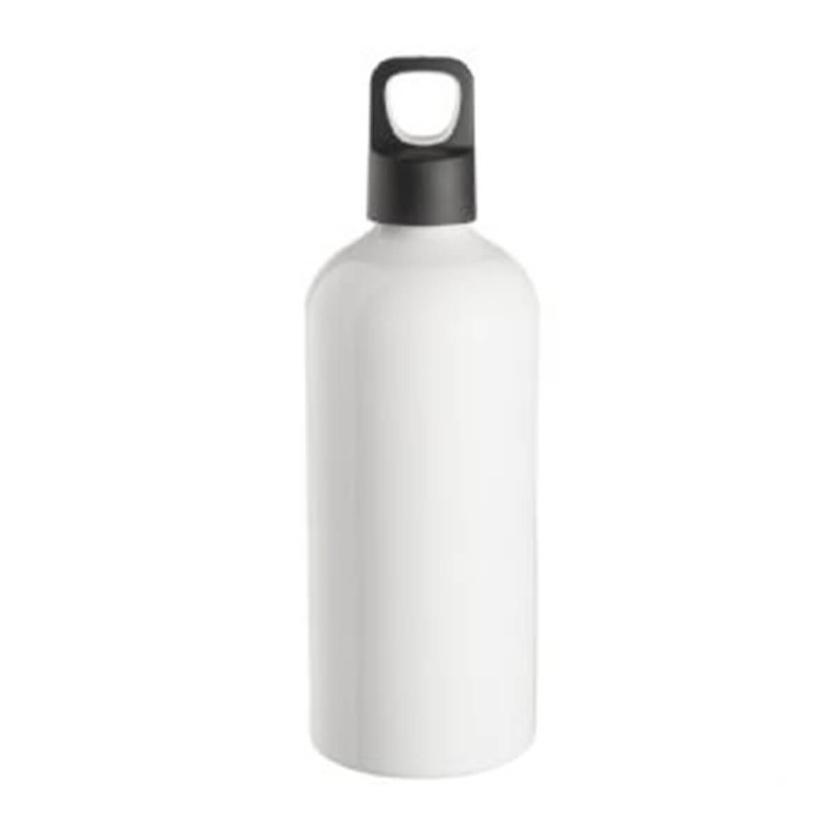 Aluminium Drink Bottle – White-White.