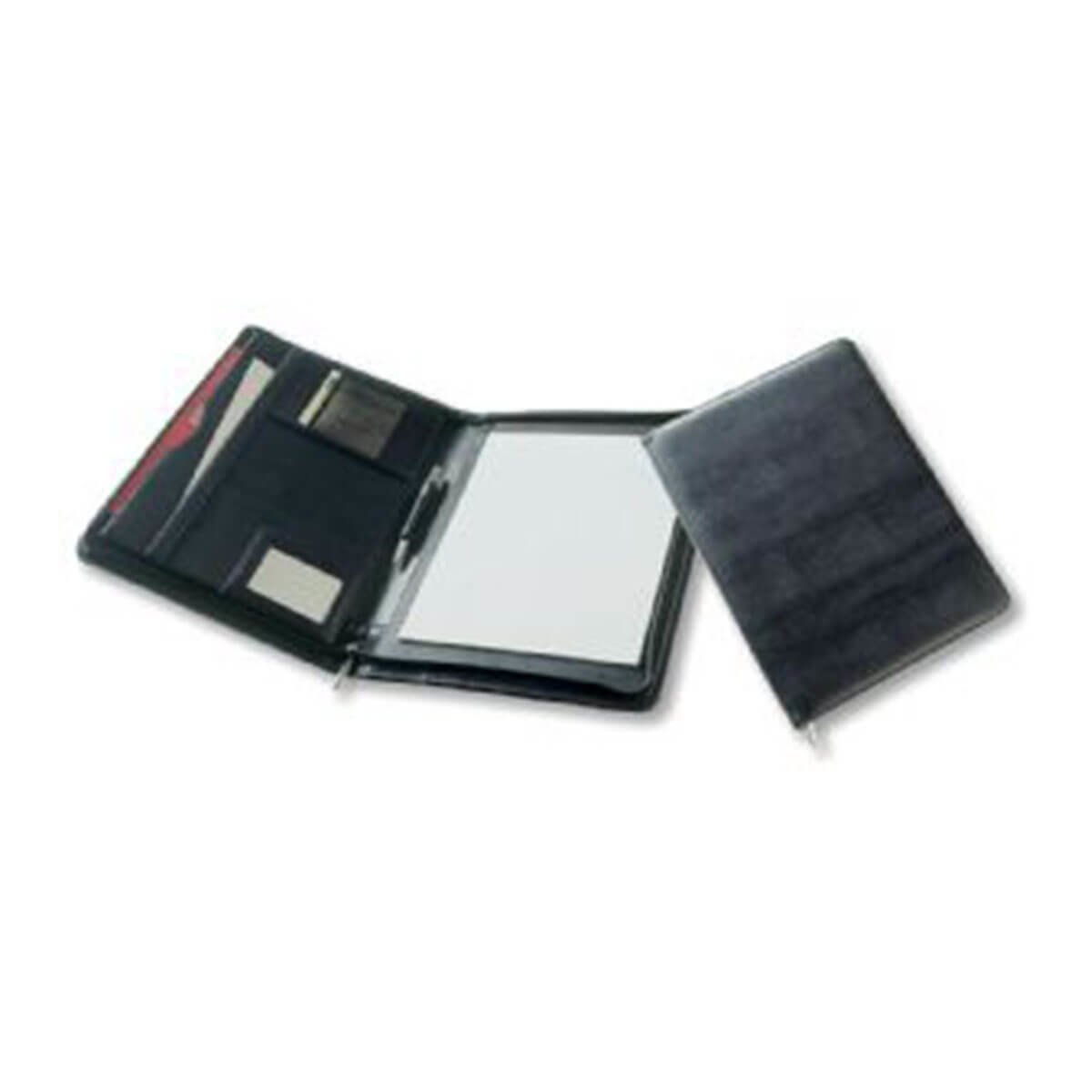 A4 Folder with Pad-Black.