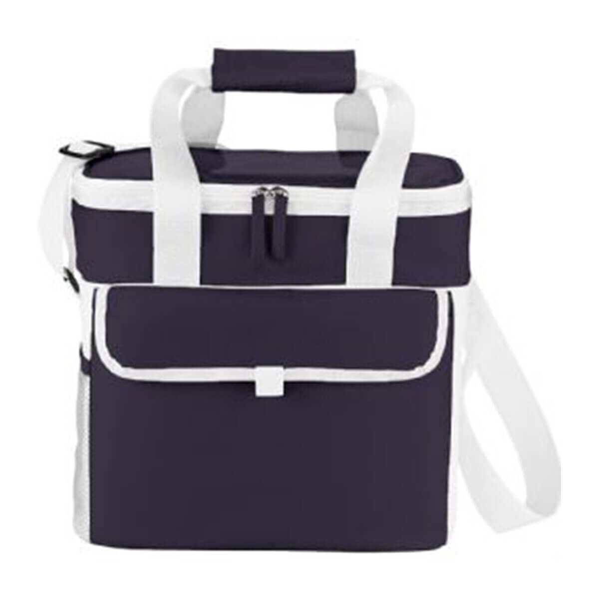 Game Day Sports Cooler-Blue and White