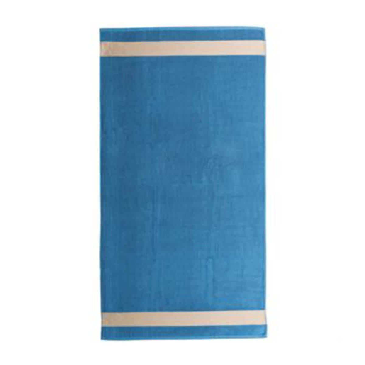 Beach Towel-Blue
