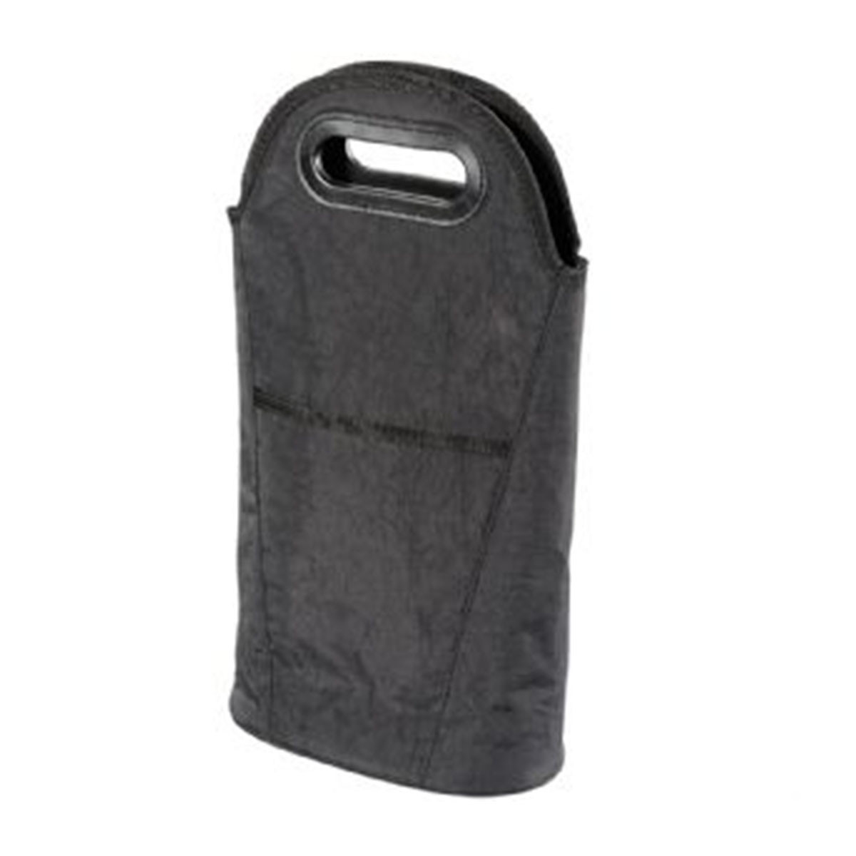 Two Bottle Insulated Wine Cooler & Carrier-Black