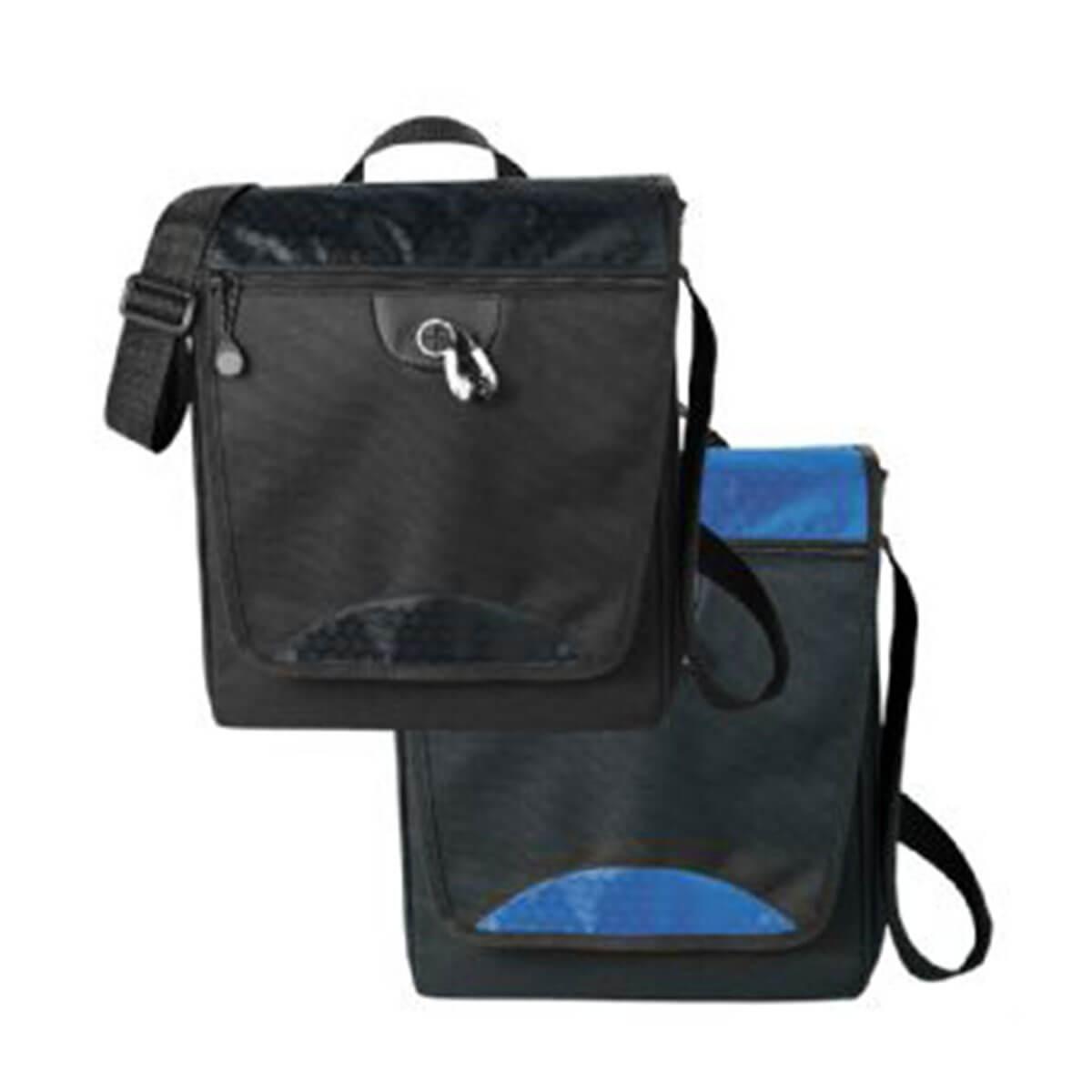 Hive Tablet Messenger Bag-Black