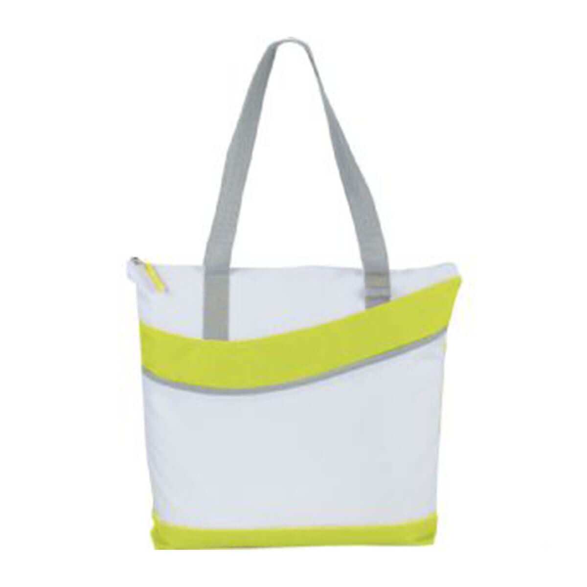 Upswing Zippered Convention Tote-Green