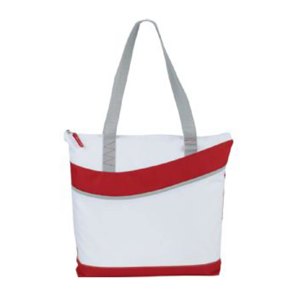 Upswing Zippered Convention Tote-Red