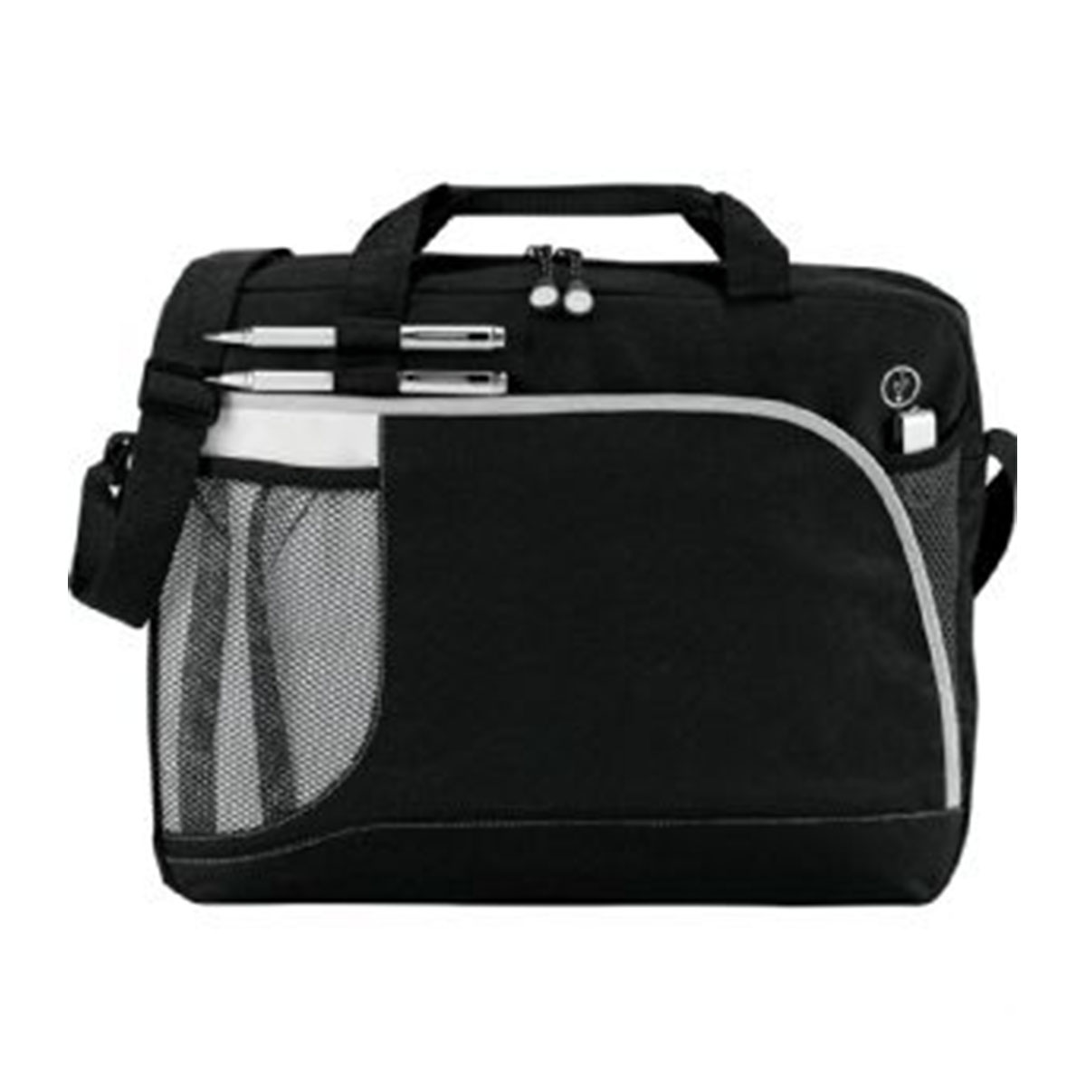 Crunch Briefcase-Black