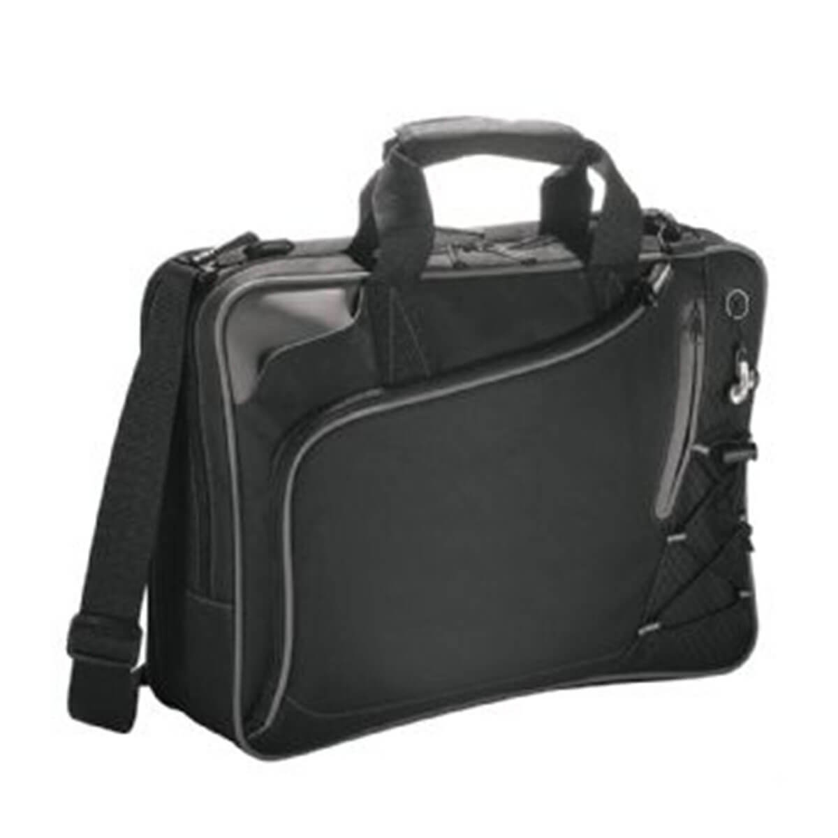 Summit Checkpoint-Friendly Computer-Case-Black with Grey Trim.
