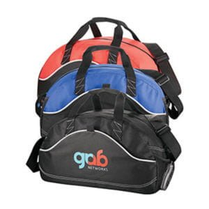 Boomerang Duffel Sports Bag-Red.