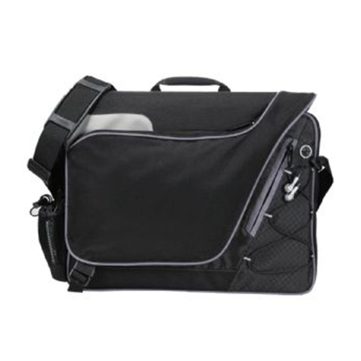 Summit Checkpoint-Friendly Compu-Case-Black with silver trim.
