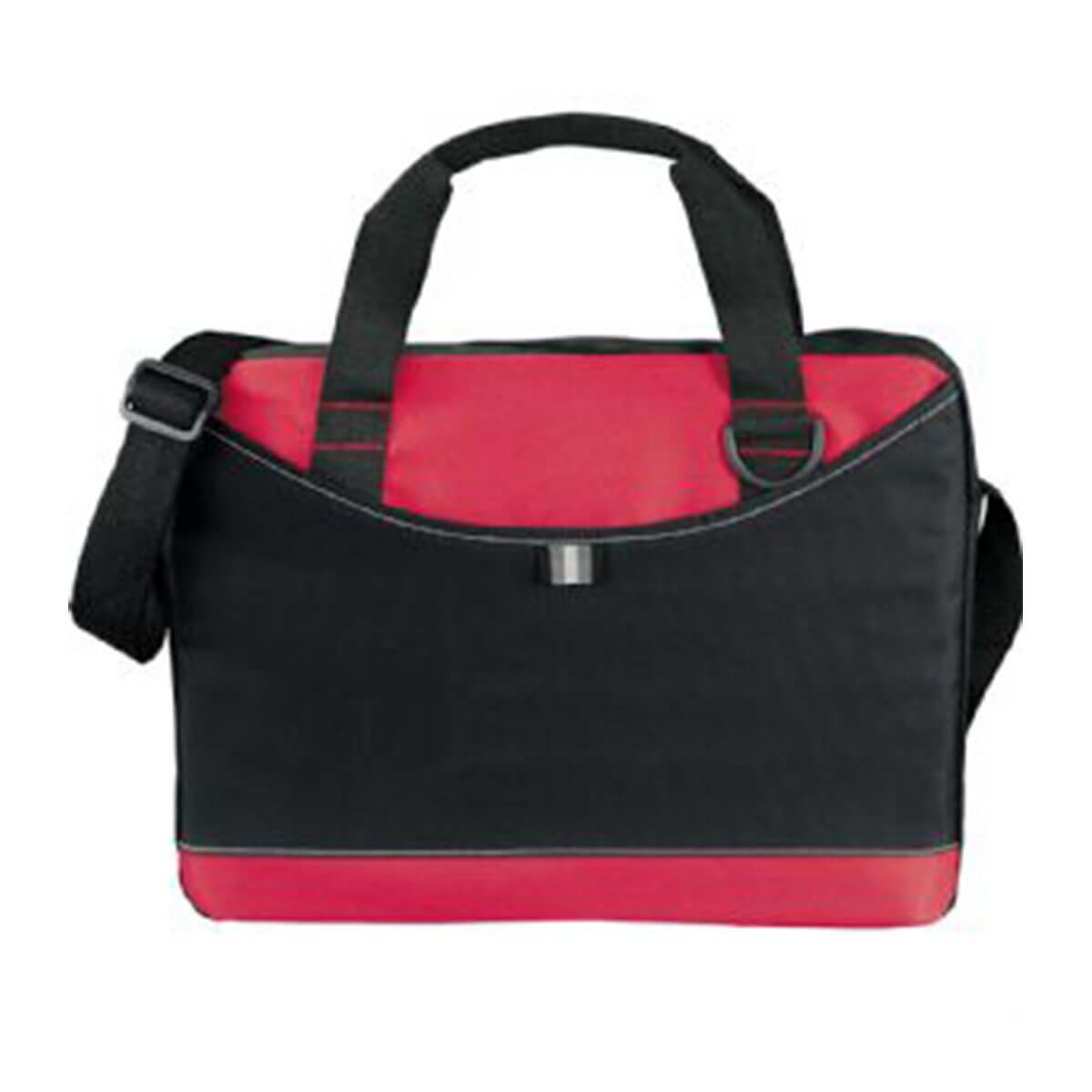 Crayon Business Brief-Black with Red.