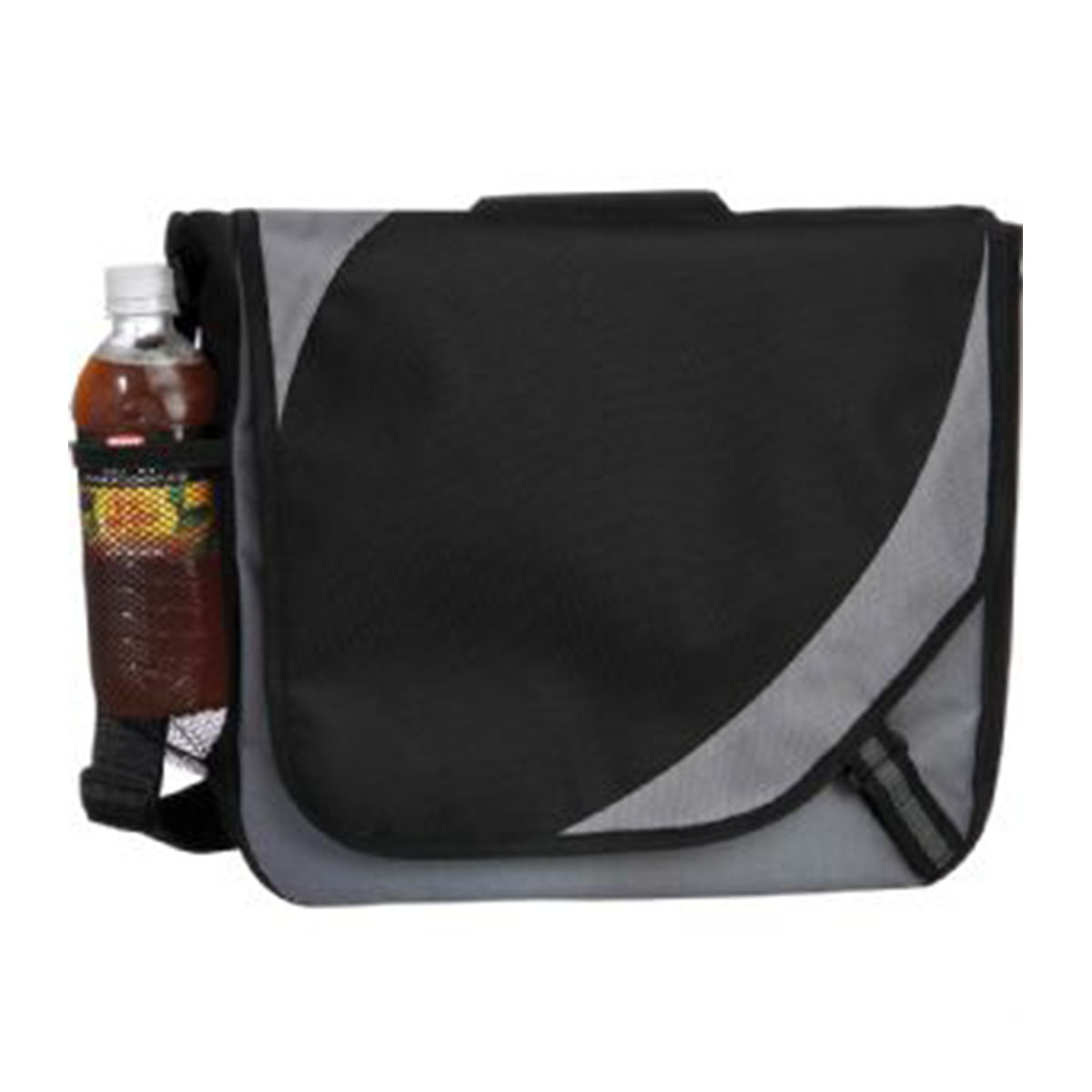 Storm Messenger Bag-Black/Grey