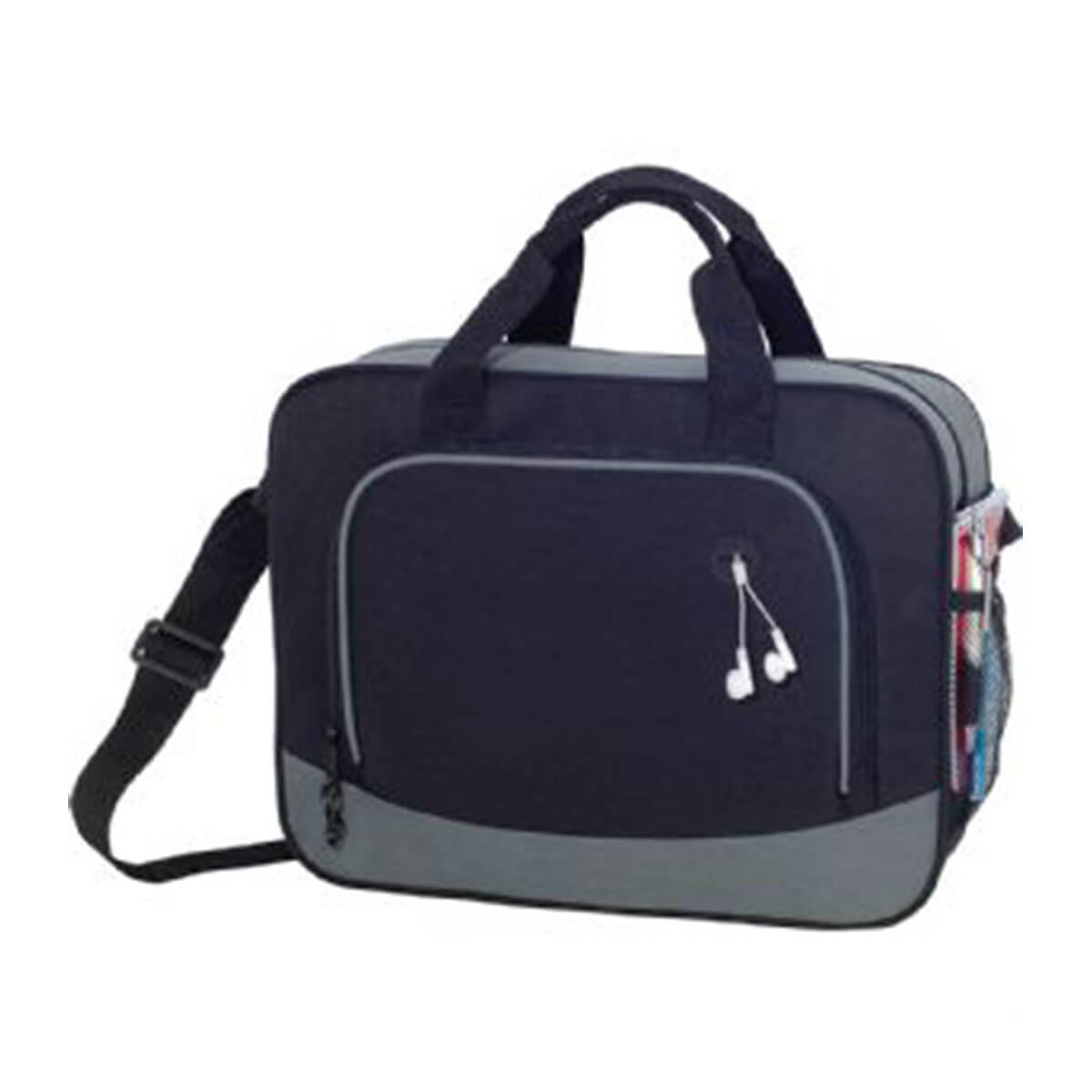 Barracuda Business Briefcase-Black/Grey