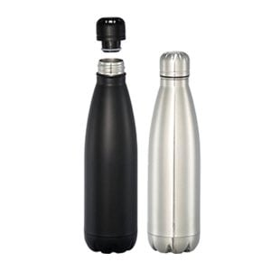 Mega Copper Vacuum Insulated Bottle - Silver