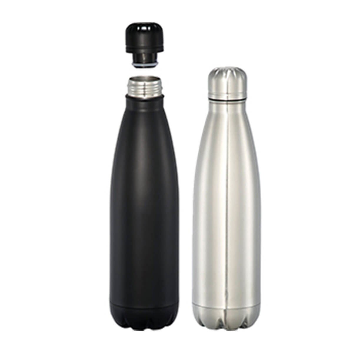 Mega Copper Vacuum Insulated Bottle – Silver-Silver