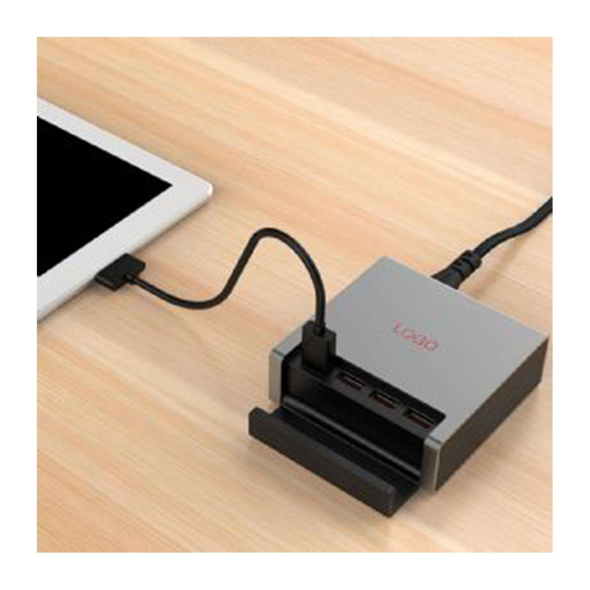 USB Smart Charger-Black