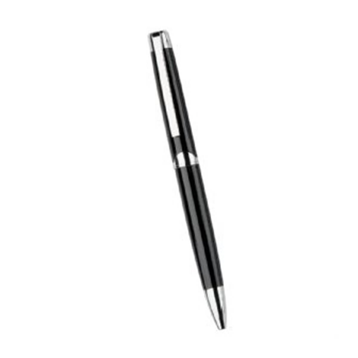 Berlin Twist Action Metal Ball Pen-Black.