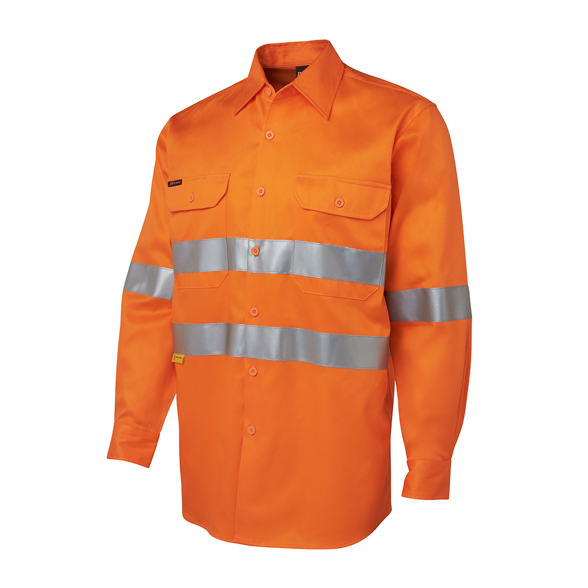 Hi Vis L/S (D+N) 190G-Orange