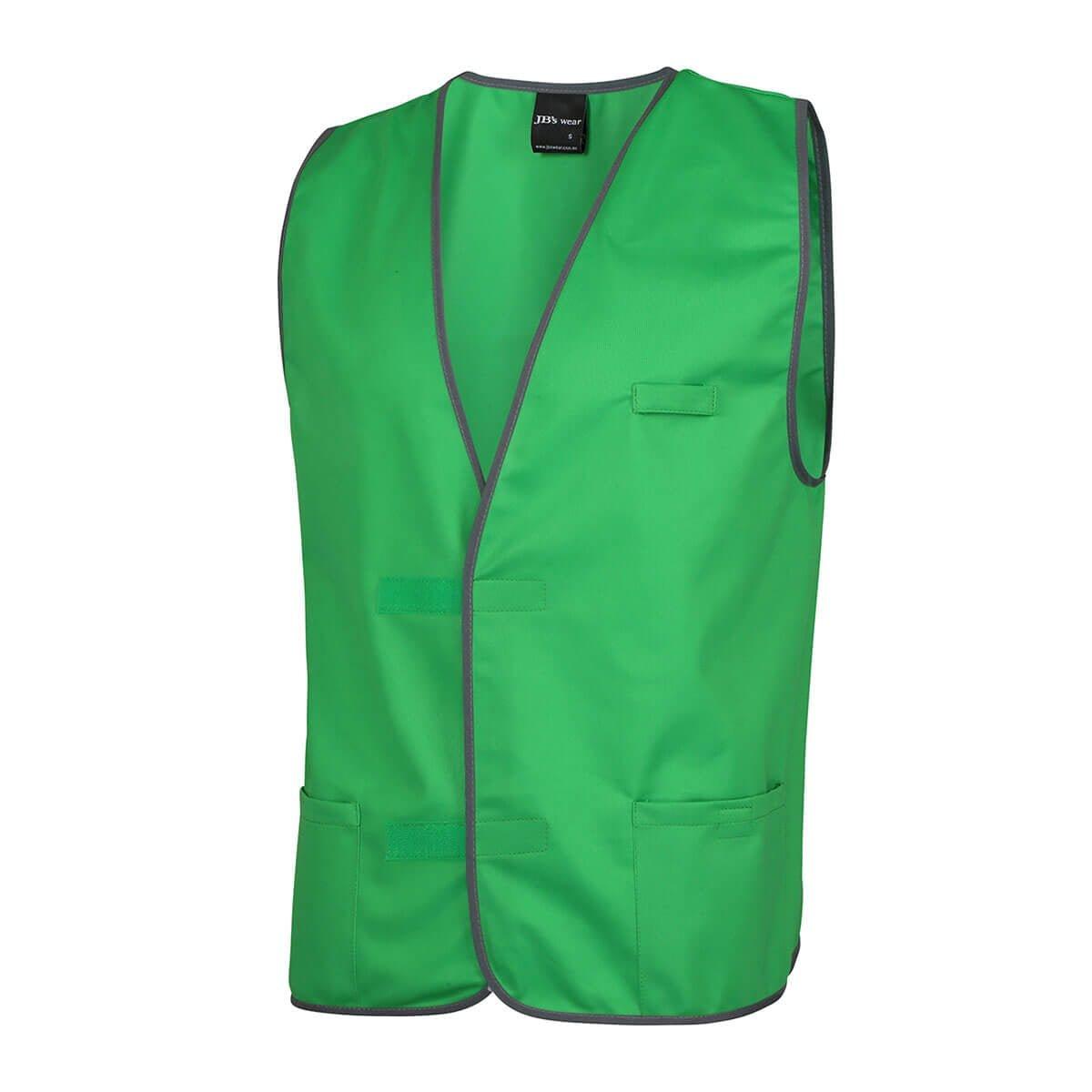Fluro Vest-Pea Green