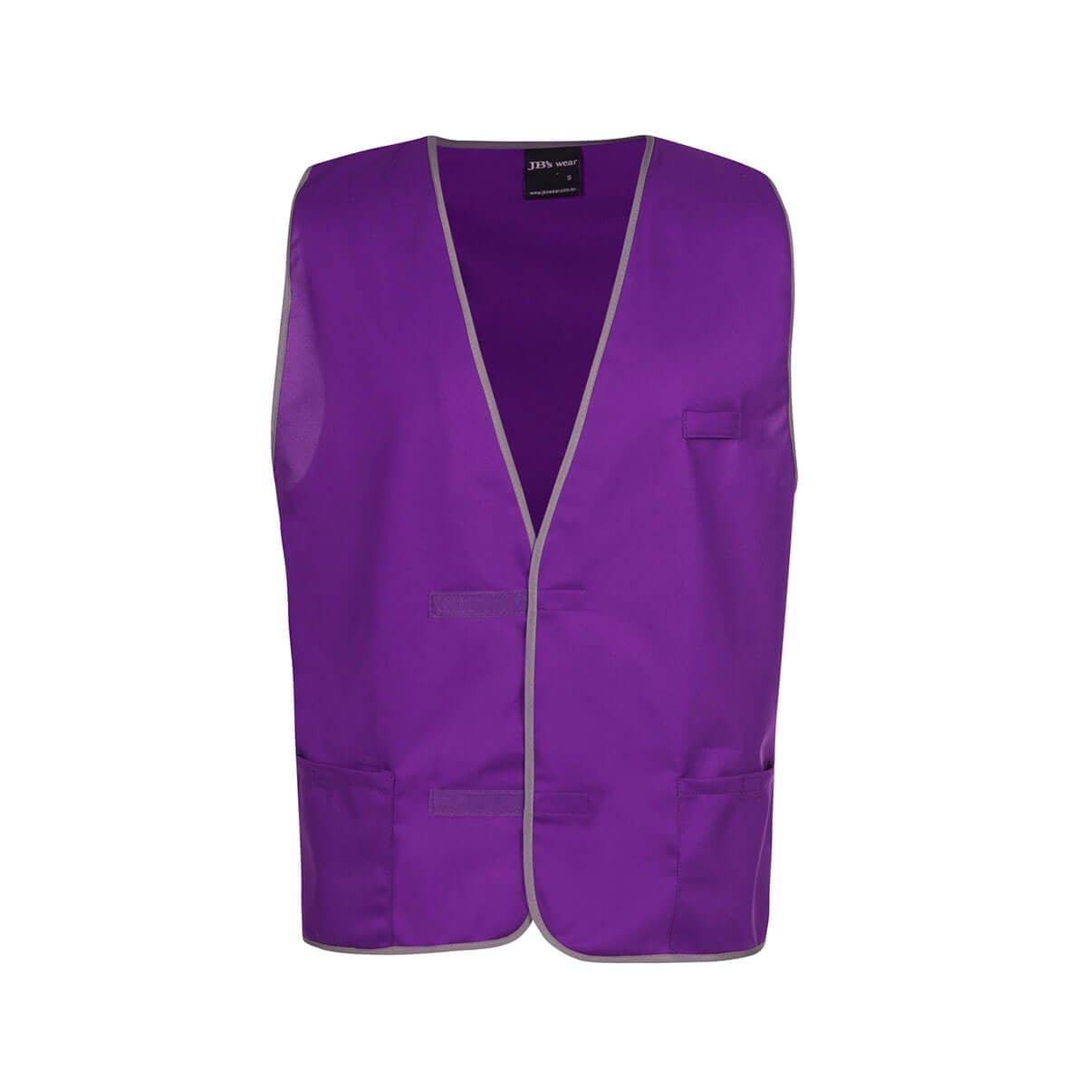 Fluro Vest-Purple