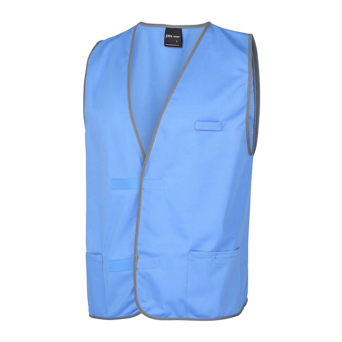 Fluro Vest-Lt Blue