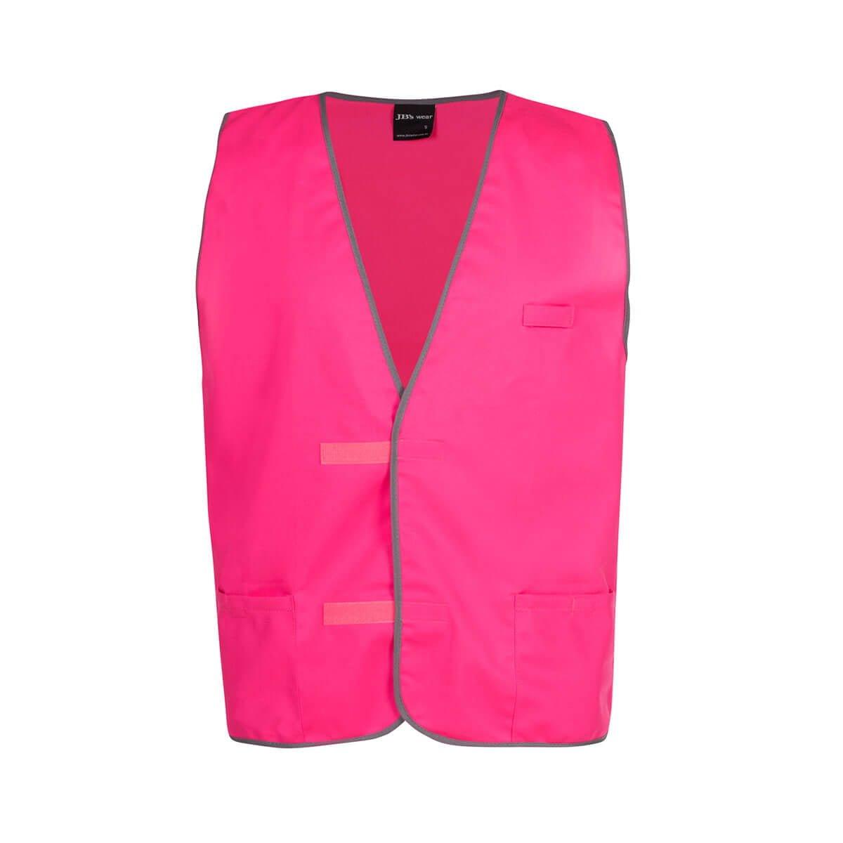 Fluro Vest-Hot Pink