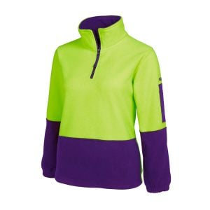 HV Ladies 1/2 Zip Polar