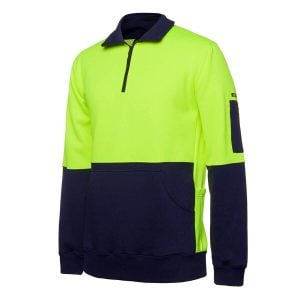 HV 330G 1/2 ZIP FLEECE