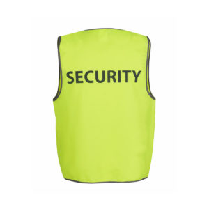 Hi Vis Safety Vest Security