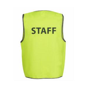Hi Vis Safety Vest Staff