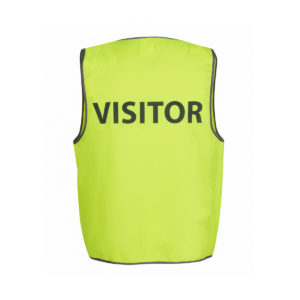 Hi Vis Safety Vest Visitor